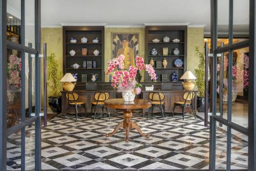 The lobby or reception area at Hotel Des Indes, CHSE Certified