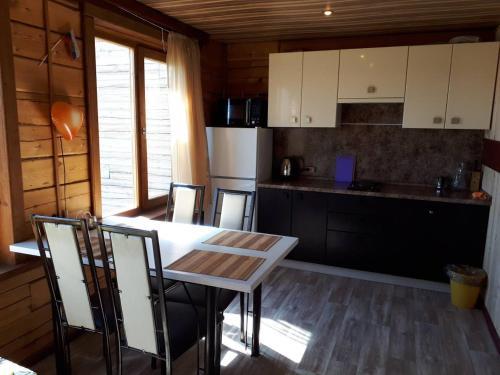 Кухня или мини-кухня в Гостевой дом Космос