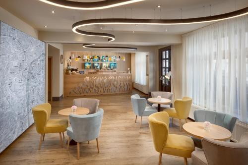 Лаундж или бар в Hotel Clement