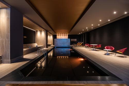 The swimming pool at or near Hilton Bogota Corferias