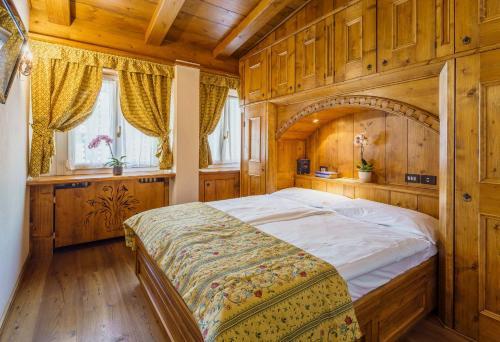Cama o camas de una habitación en Hotel Aquila