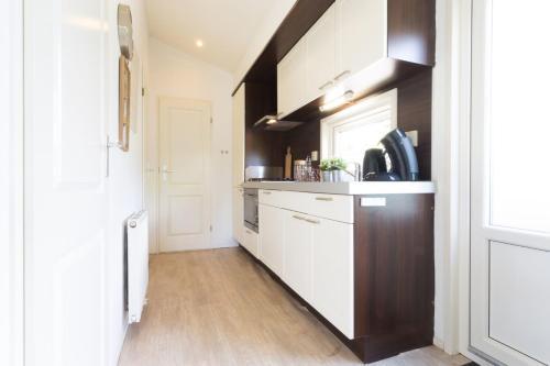 A kitchen or kitchenette at DL Comfort 4 personen