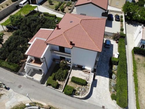 Vista aerea di Apartments Anastazija