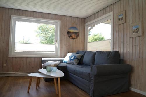 Ein Sitzbereich in der Unterkunft Kleine Auszeit