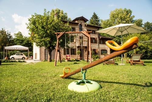 Area giochi per bambini di Villa Fratta