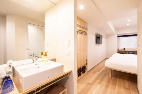 A bathroom at karaksa hotel TOKYO STATION