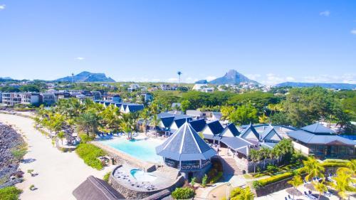 A bird's-eye view of Anelia Resort & Spa