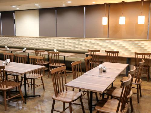A restaurant or other place to eat at Hotel Sun Plaza Sakai