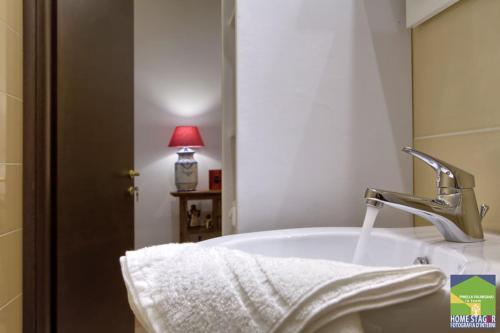 A bathroom at Salernocity1 Nuovo Tribunale