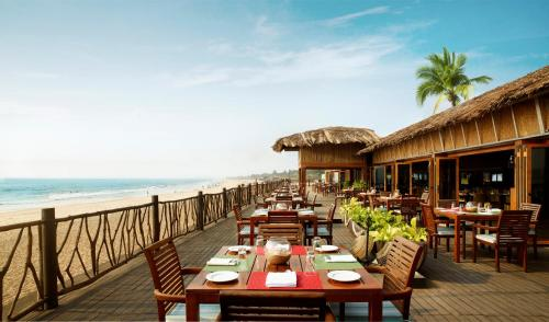 A restaurant or other place to eat at Taj Holiday Village Resort & Spa, Goa