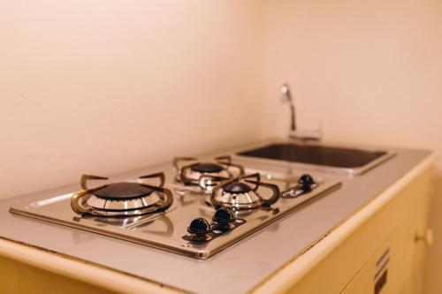 Кухня или мини-кухня в Exclusive Hotel La Reunion