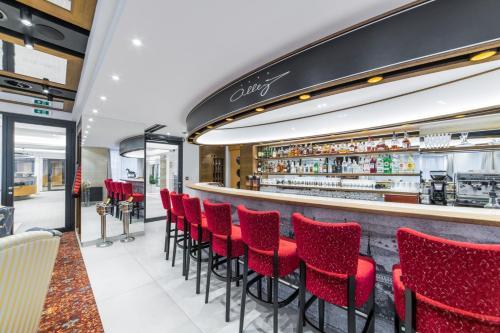 Лаундж или бар в Hotel Alley