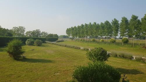 A garden outside Agriturismo ai Casali