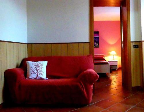 Area soggiorno di Apartment Mini Monaco