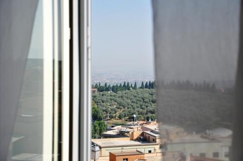 Vista generica dall'interno dell'hotel