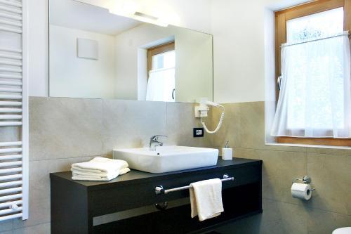 Ein Badezimmer in der Unterkunft Garnì La Tranquillitè