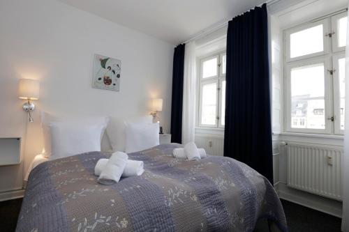 Cama o camas de una habitación en Hotel Bethel