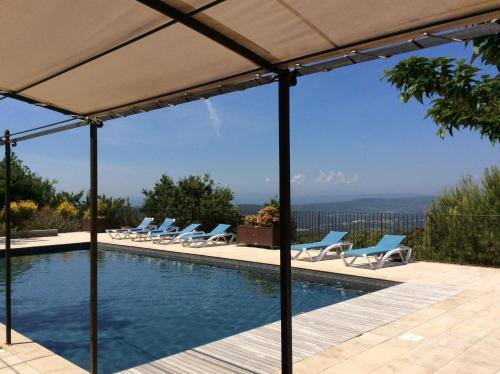 The swimming pool at or near Résidences Les Bernardins