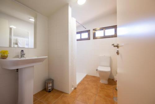 Un baño de Hostel La Pedriza
