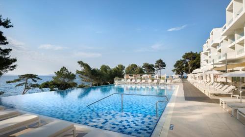 The swimming pool at or near Valamar Carolina Hotel & Villas