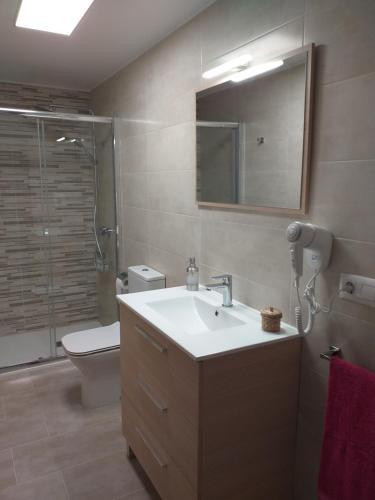 A bathroom at Casa Do Zoqueiro