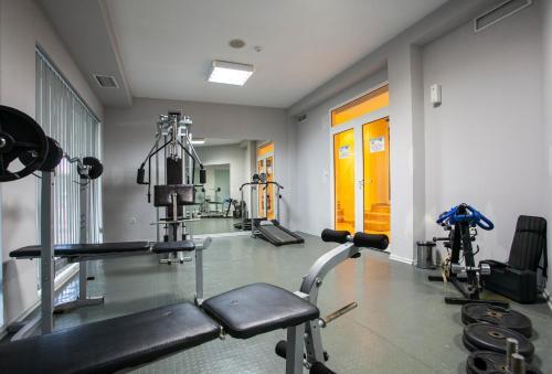 Фитнес център и/или фитнес съоражения в Хотел Релакс КООП