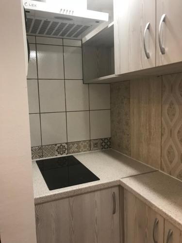 Кухня или мини-кухня в Гостиница у Моря