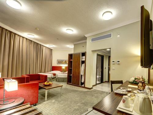 منطقة جلوس في فندق إيلاف بكة