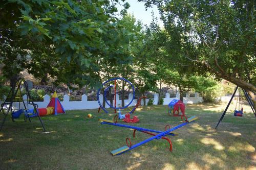 Children's play area at Hotel Zachos
