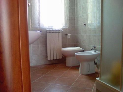 A bathroom at Appartamenti Sole Mare Agropoli