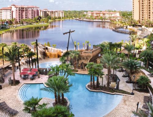 A view of the pool at Club Wyndham Bonnet Creek or nearby