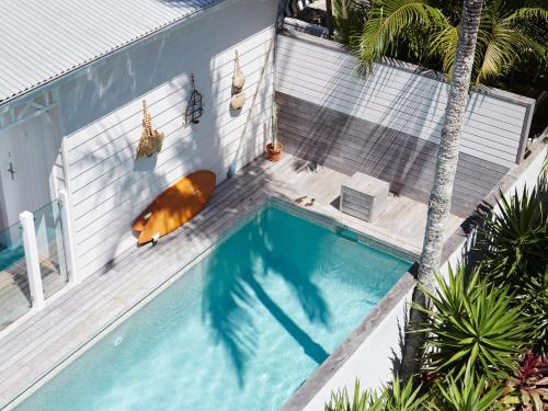 A view of the pool at Atlantic Byron Bay or nearby