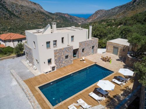 A view of the pool at Villa Adagio 5 Bedroom with Private Eco-Friendly Heated Pool or nearby