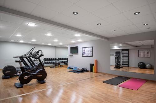 Fitnesscenter och/eller fitnessfaciliteter på Quality Hotel Sundsvall