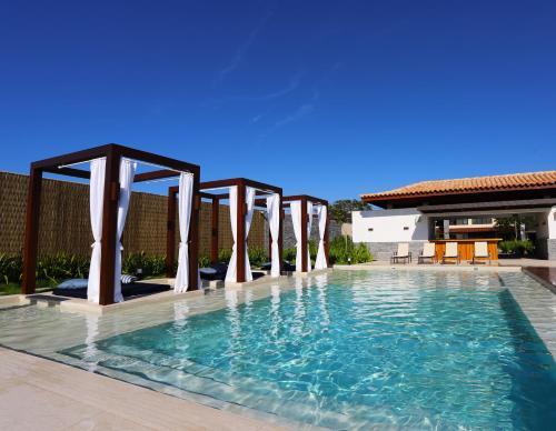Hotel Aretêの敷地内または近くにあるプール