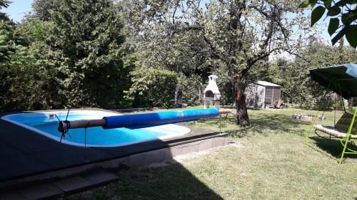 The swimming pool at or close to Anita Haus