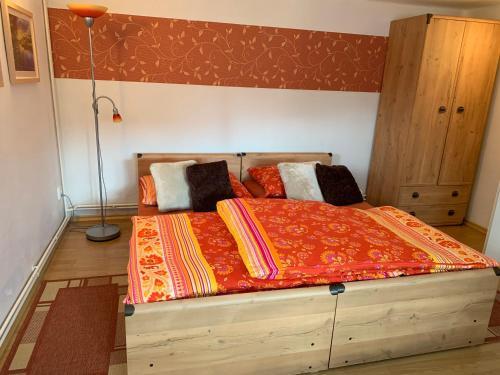 Postel nebo postele na pokoji v ubytování Vila Linda