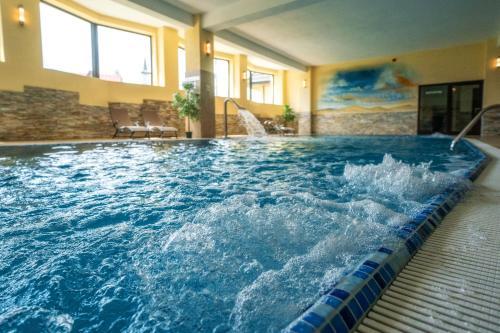 The swimming pool at or near Hotel Tatra