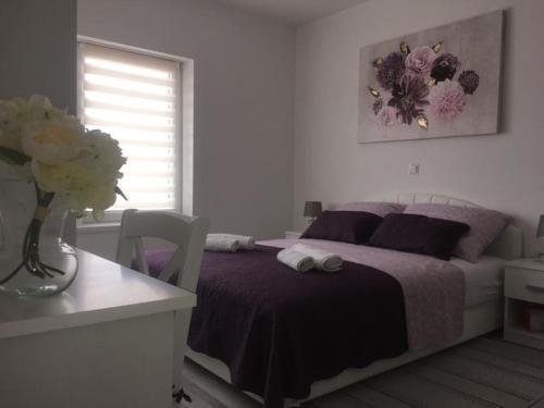 Letto o letti in una camera di Apartman Lidija