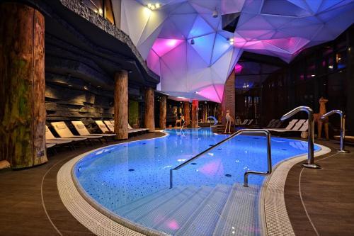 Basen w obiekcie Hotel Żubrówka Spa & Wellness lub w pobliżu
