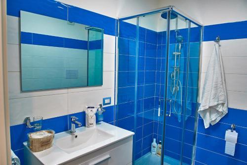 A bathroom at Casa sul Corso