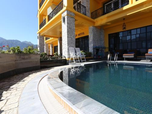 The swimming pool at or near Aira Boutique Sapa Hotel & Spa
