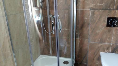 Koupelna v ubytování Penzion Monika
