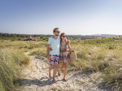 A family staying at Landal Vlieduyn