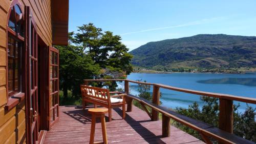 Балкон или терраса в Terra Luna Lodge