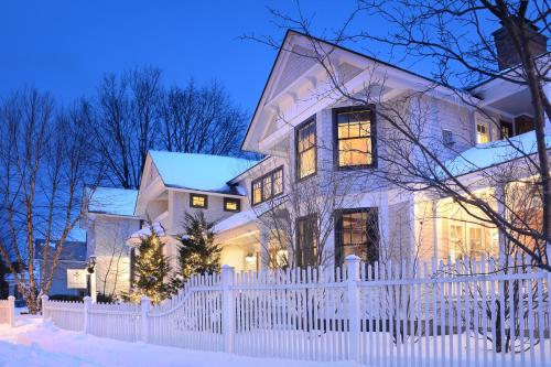 The Springwater Bed and Breakfast during the winter