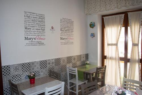 A restaurant or other place to eat at Mary's house