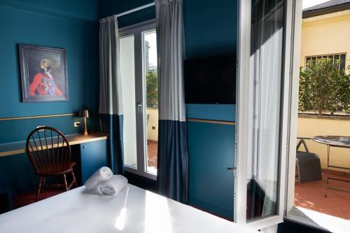 Letto o letti in una camera di Clerici Boutique Hotel