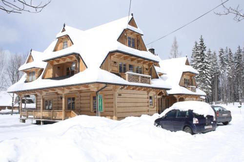 Obiekt Zakątek Pod Smrekami zimą