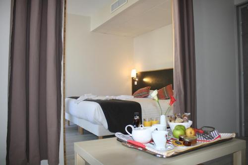 Un ou plusieurs lits dans un hébergement de l'établissement Domaine Agerria